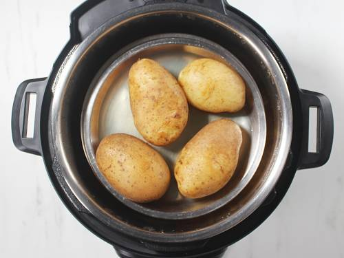 boiling potatoes for patties