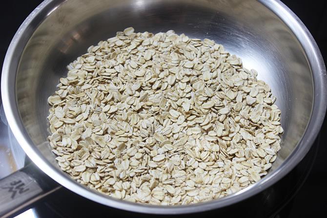 dry roasting oats