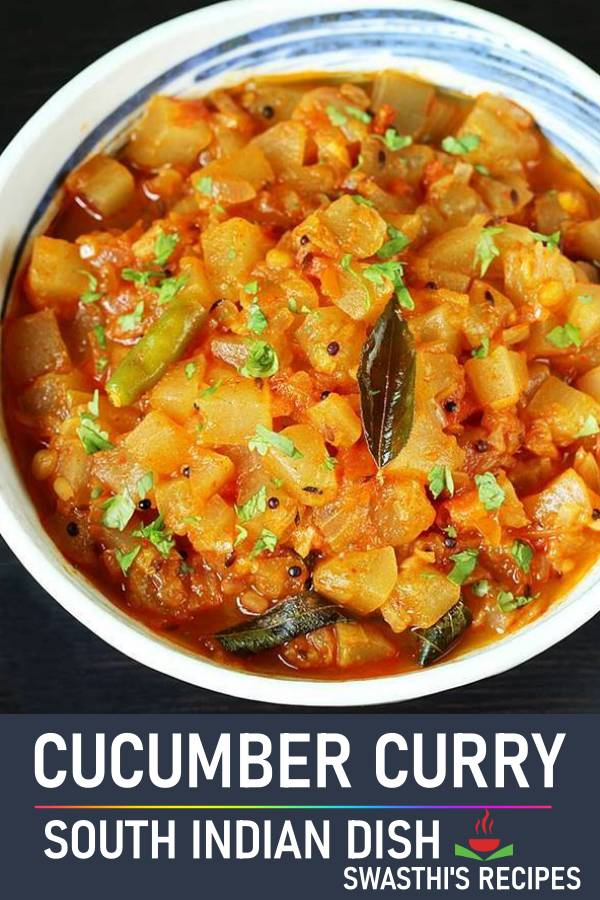 Cucumber curry | Andhra style dosakaya curry