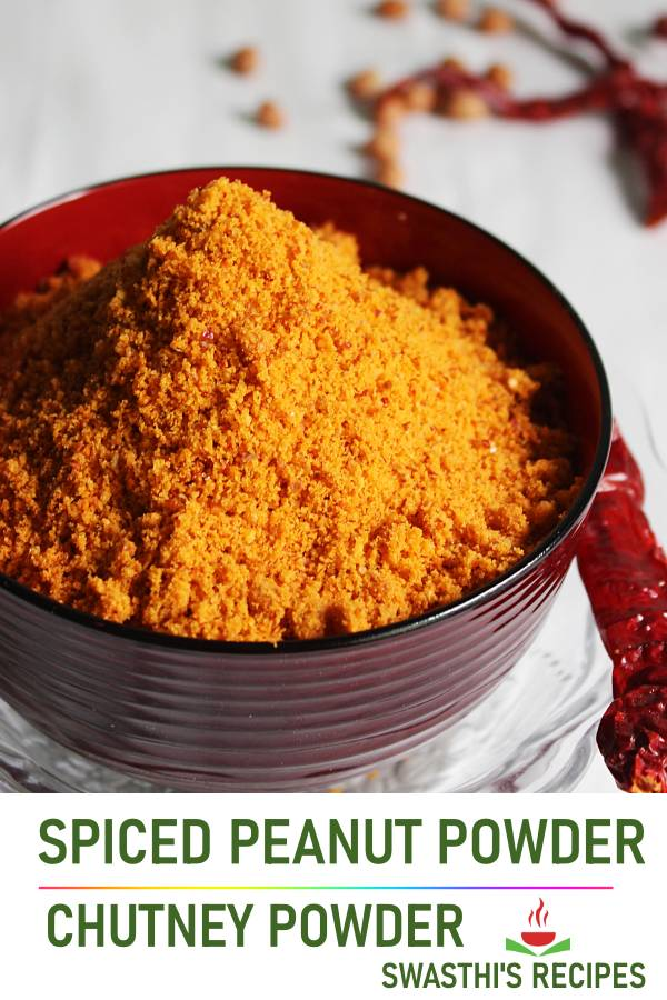 Chutney powder (Peanut powder) Chutney pudi