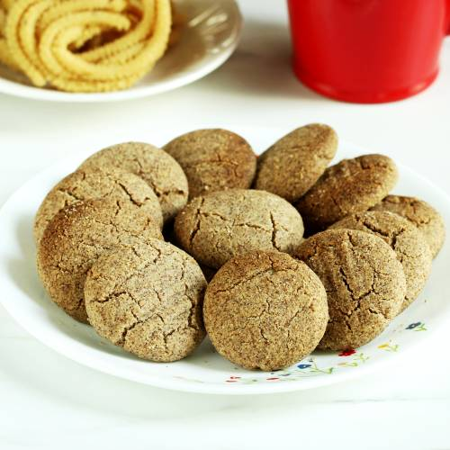 ragi biscuits made without refined flour