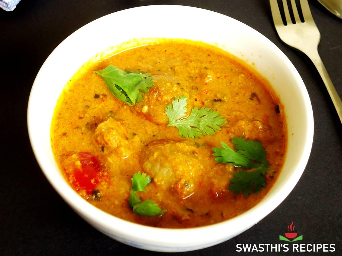 mushroom masala curry