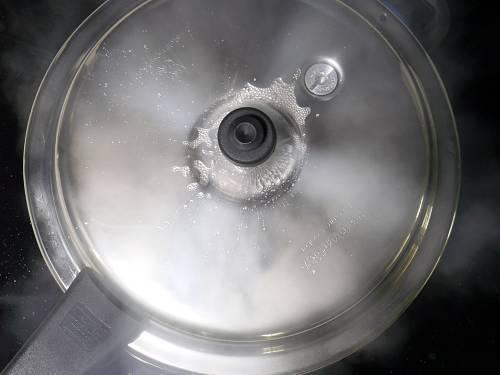 pressure cooking matar pulao