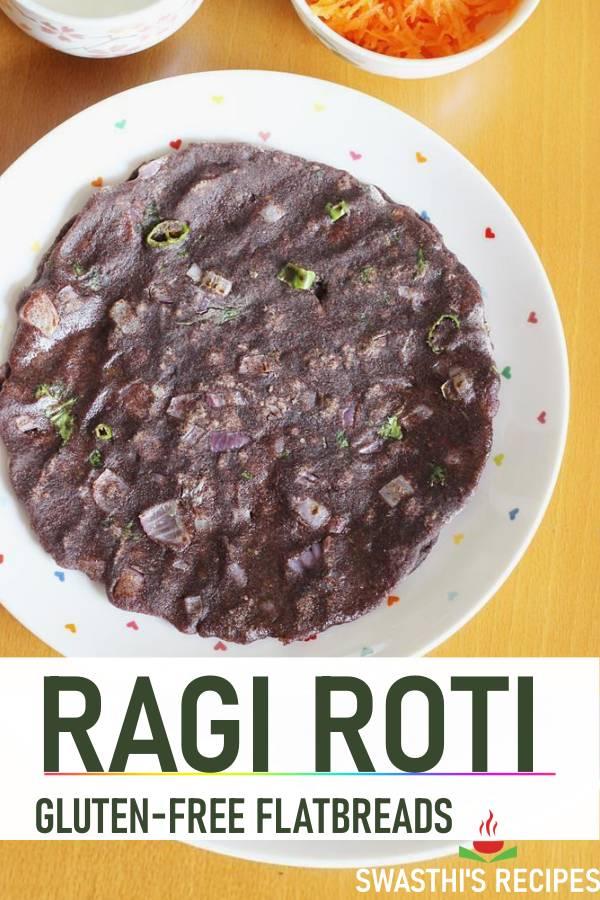 Ragi roti | Ragi rotti | How to make ragi roti |  Ragi recipes