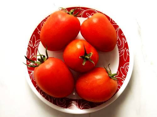 roma tomatoes for pizza sauce