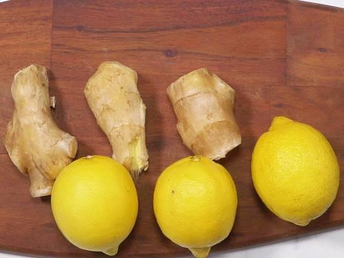 lemons to make ginger shot