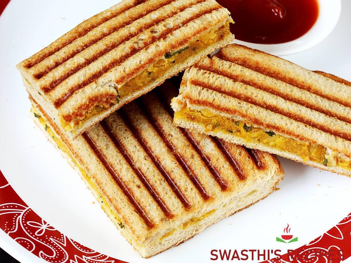 potato sandwich aloo sandwich