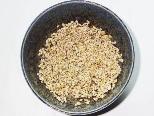 rinsed barley