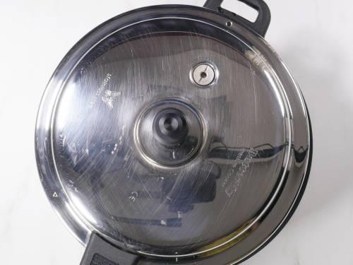 pressure cooking dal