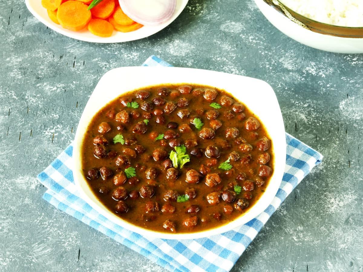 kala chana black chickpeas recipe