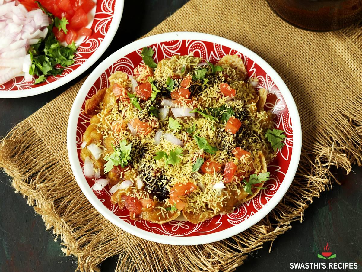 masala puri chaat recipe