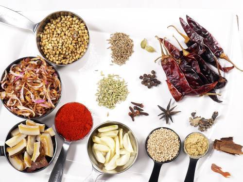spices for misal masala