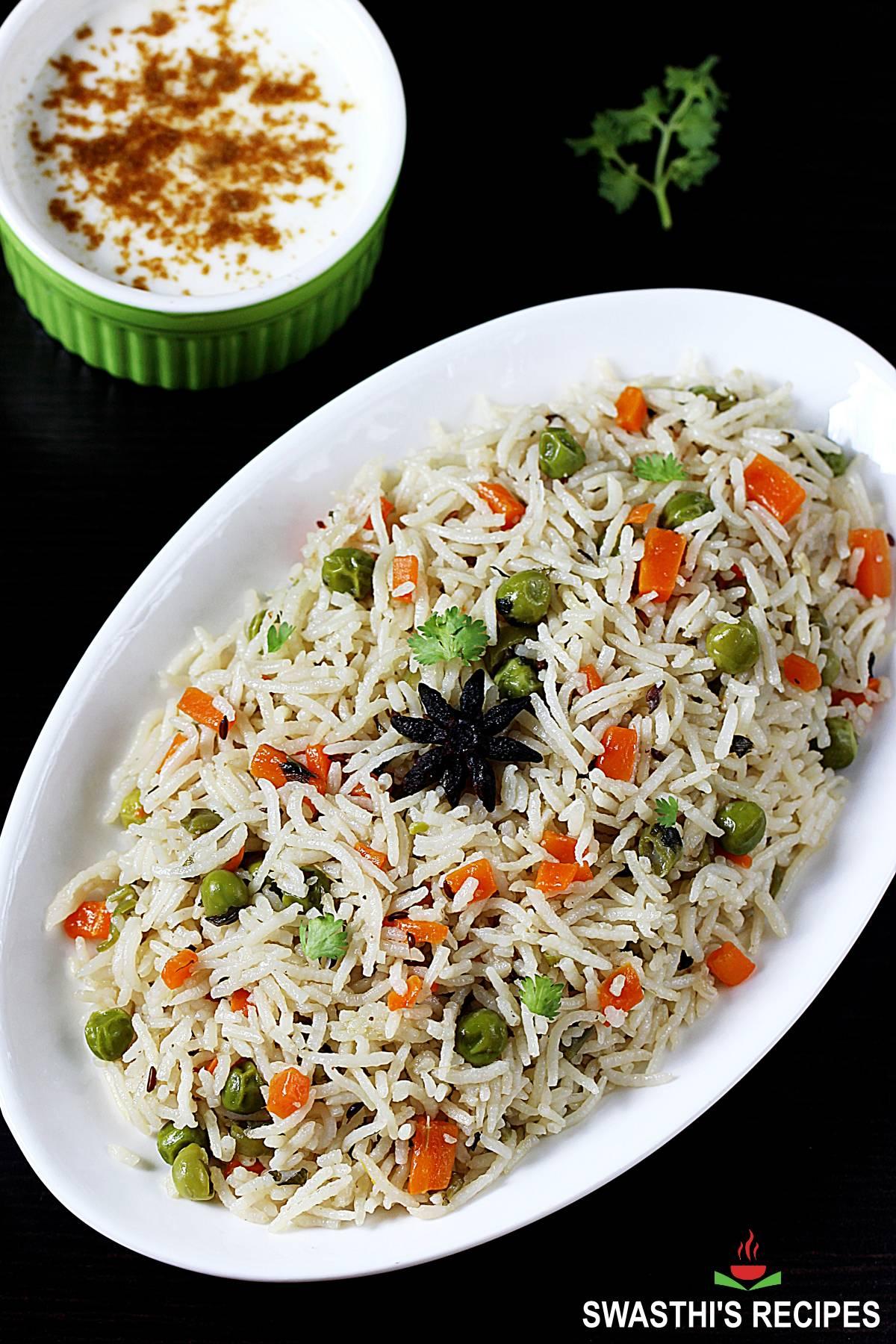 veg pulao vegetable pulao