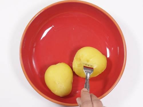 fork tender boiled potatoes