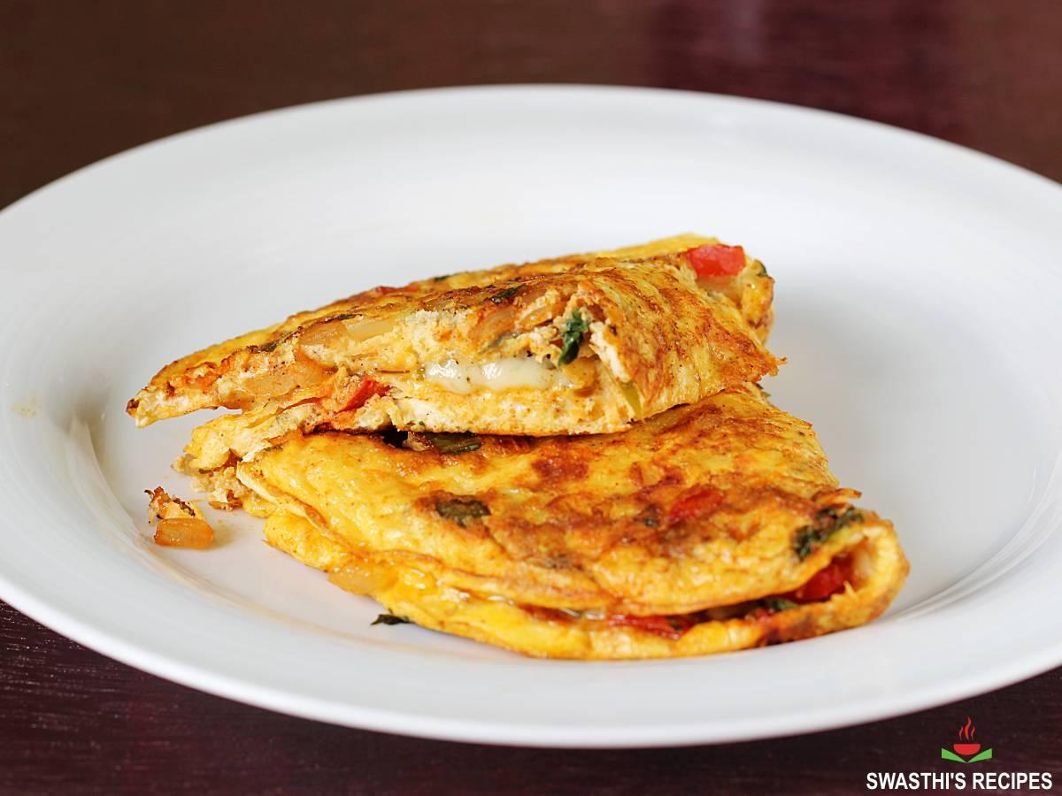 cheese omelette mozzarella omelet