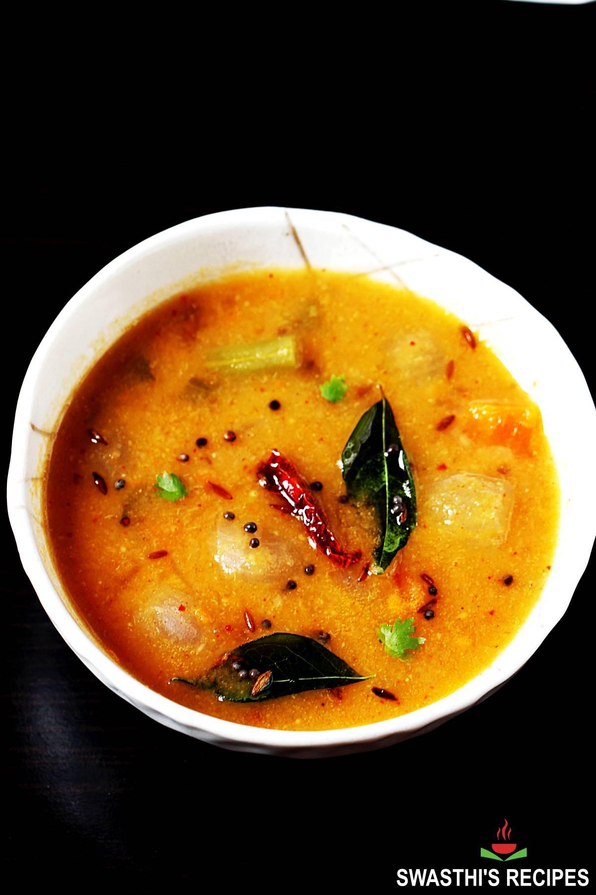 hotel style idli sambar