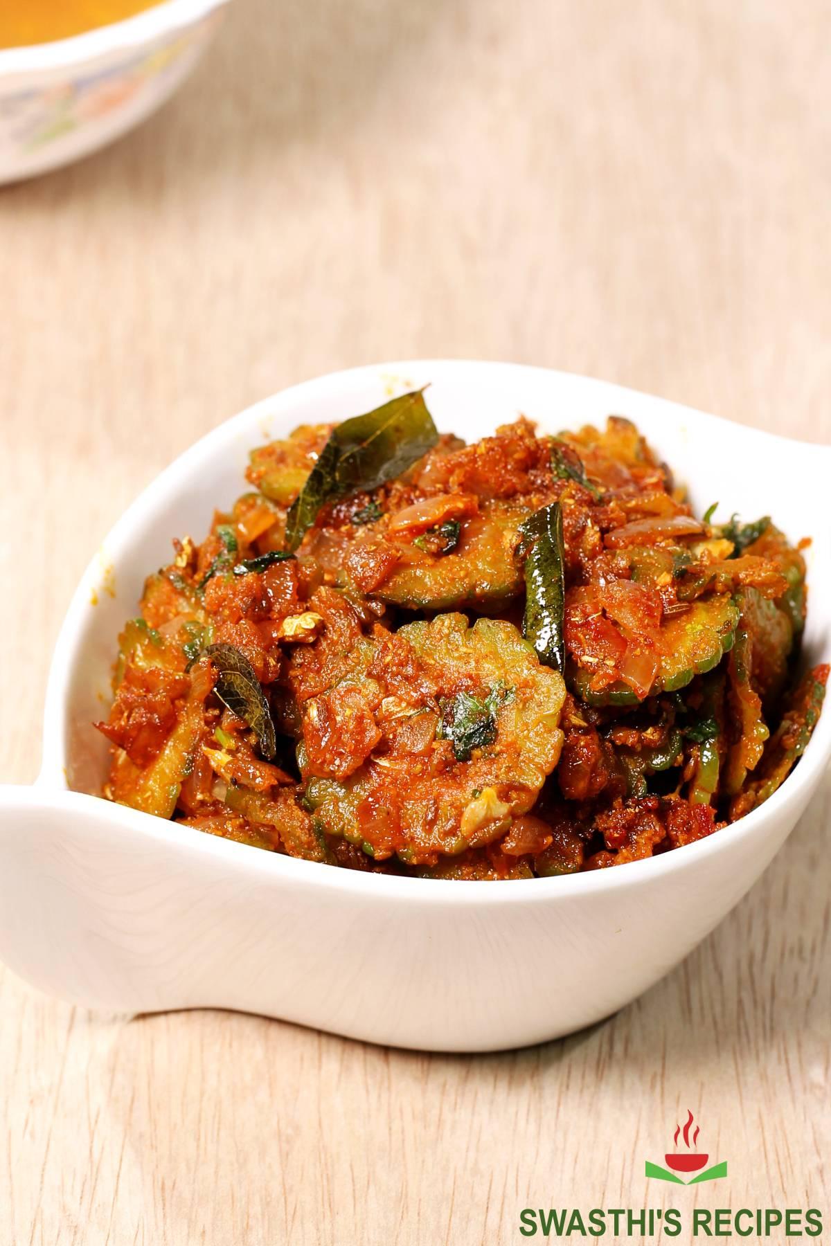 bitter gourd curry karela recipe