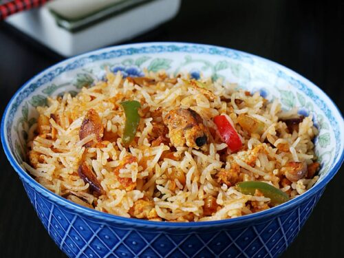 egg fried rice spicy