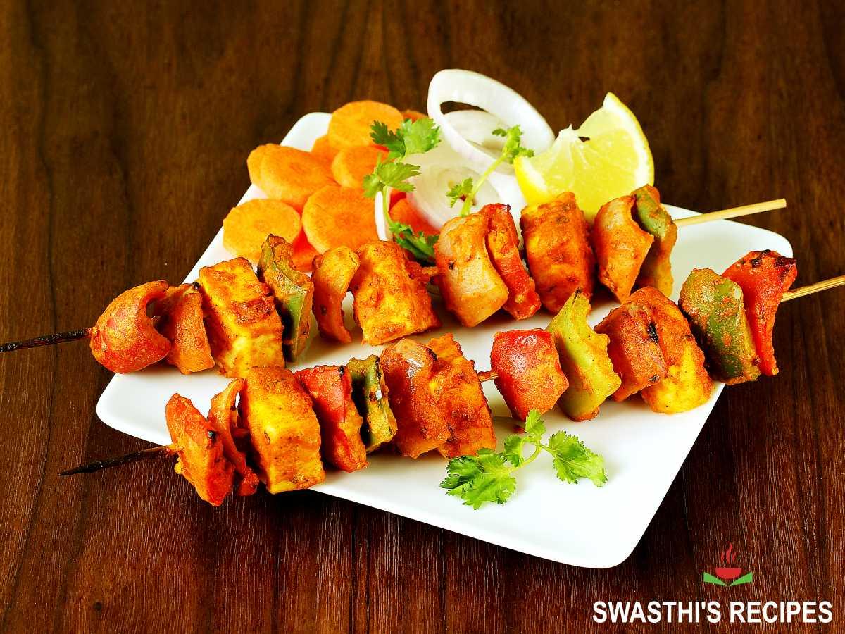 paneer tikka made in restaurant style
