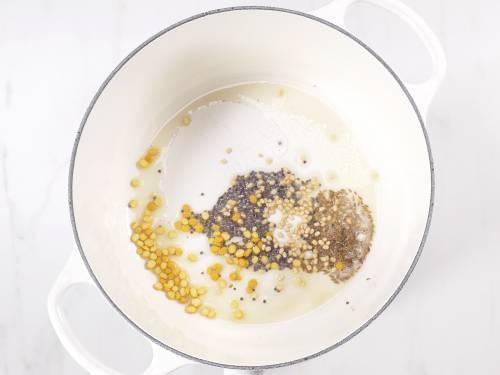 tempering ingredients for semiya upma