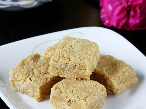 7 cup burfi made with 7 cups of ingredients
