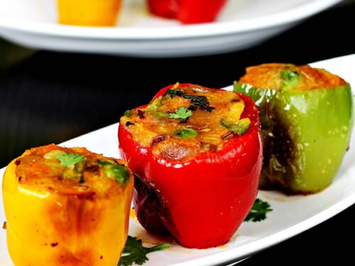 capsicum recipes - 27 Indian bell peppers