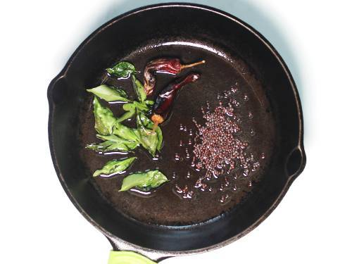 tempering spices