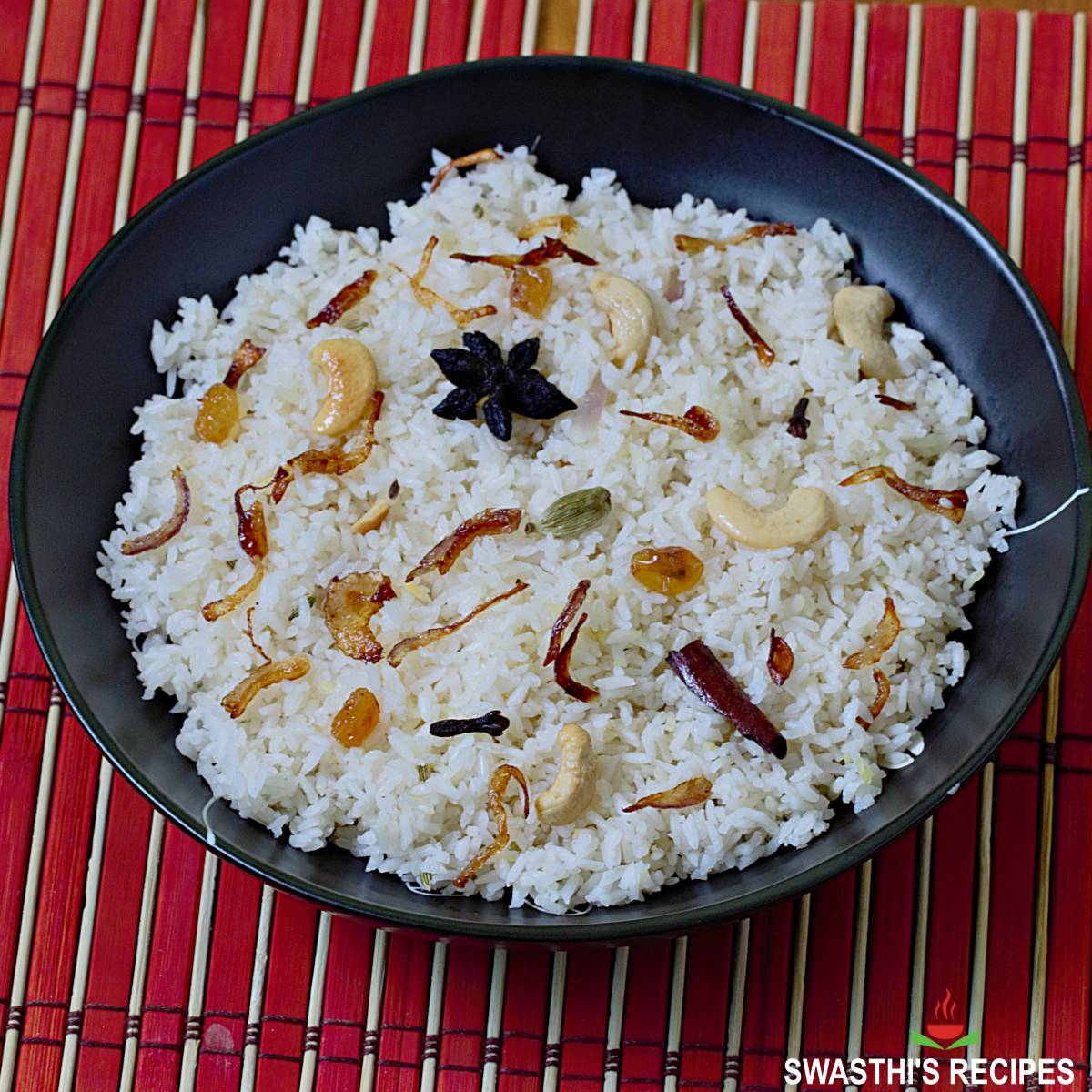 kerala ney choru made with kaima rice