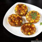 corn cutlet patties