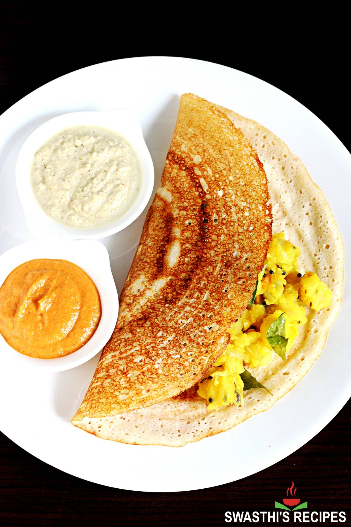 Dosa recipe with homemade batter
