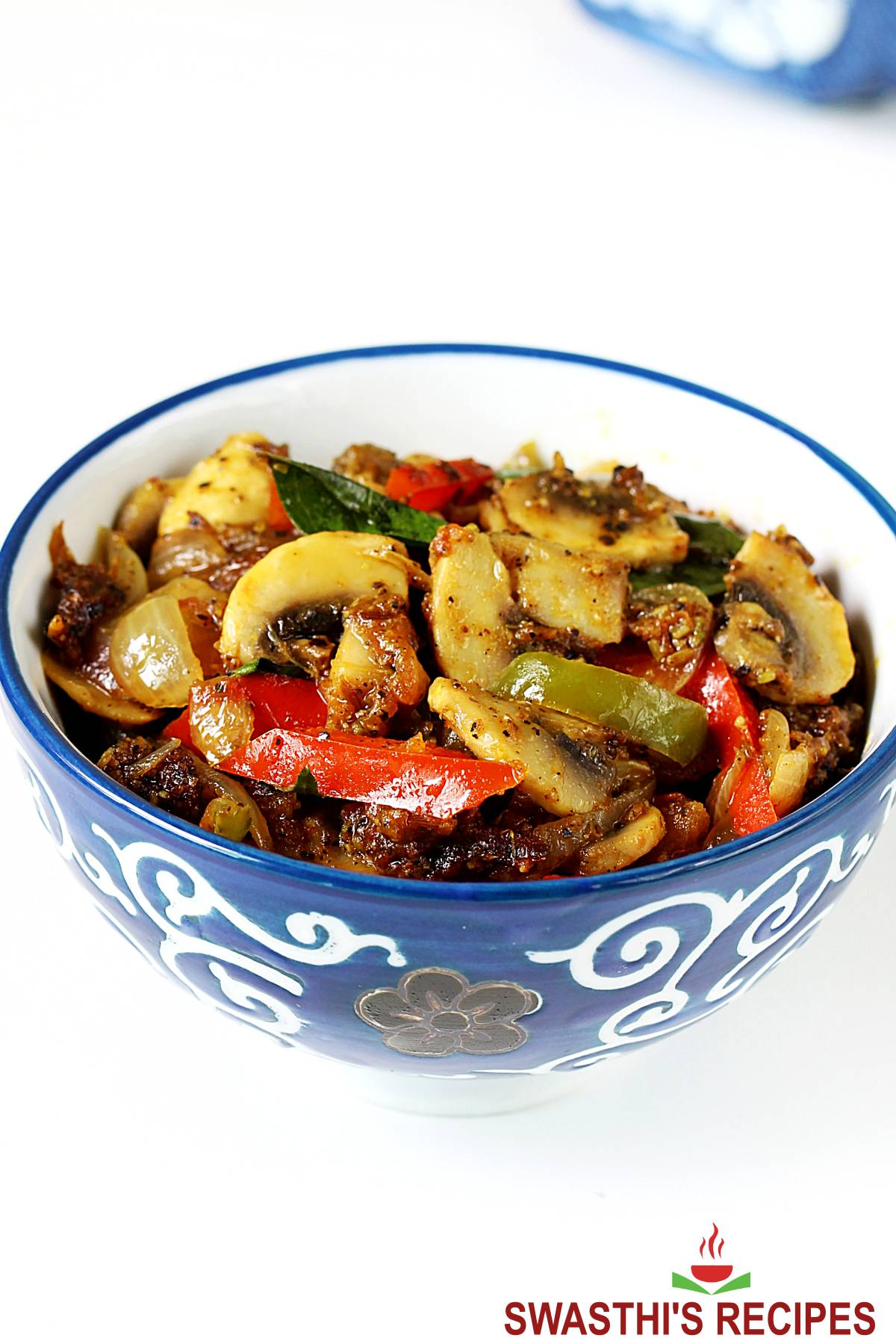 Pepper Mushroom - South Indian style