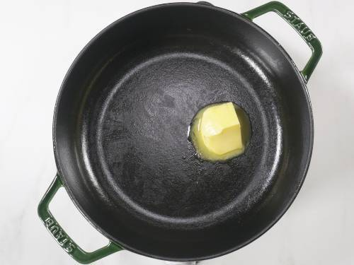 melt butter in a pot